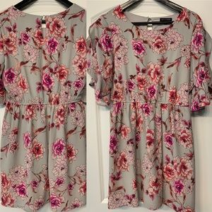 Like new floral dress!